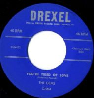 Gems,The - You're Tired Of Love/l' Man River (D 54472) M-
